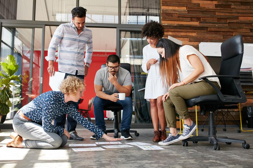Jovens apostando no empreendedorismo universitário